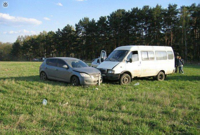 Казусные дорожно-транспортные происшествия 2