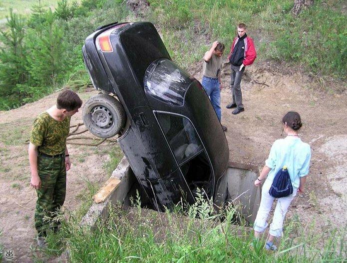 Казусные дорожно-транспортные происшествия 6