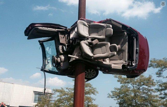 Казусные дорожно-транспортные происшествия 8