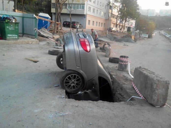 Казусные дорожно-транспортные происшествия 12