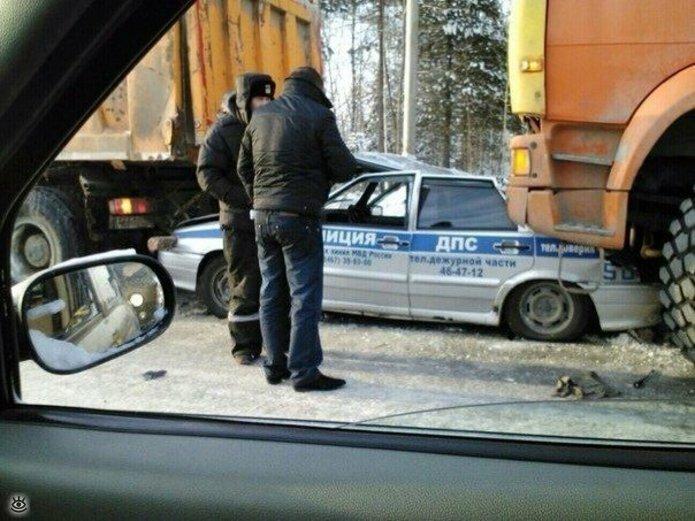 Казусные дорожно-транспортные происшествия 14