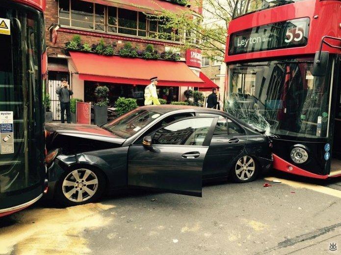 Казусные дорожно-транспортные происшествия 19