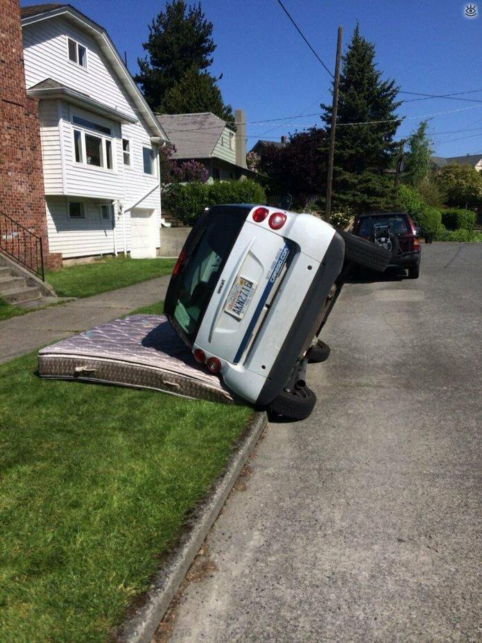 Казусные дорожно-транспортные происшествия 20