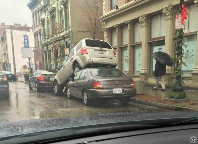 Казусные дорожно-транспортные происшествия 21