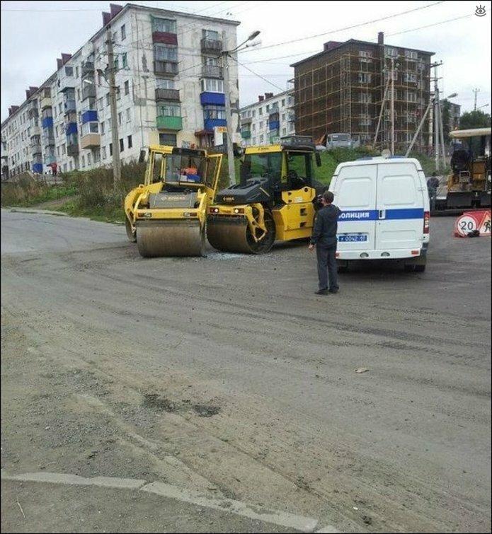 Казусные дорожно-транспортные происшествия 25