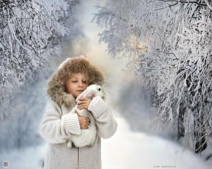 Детство в деревне зимой 5