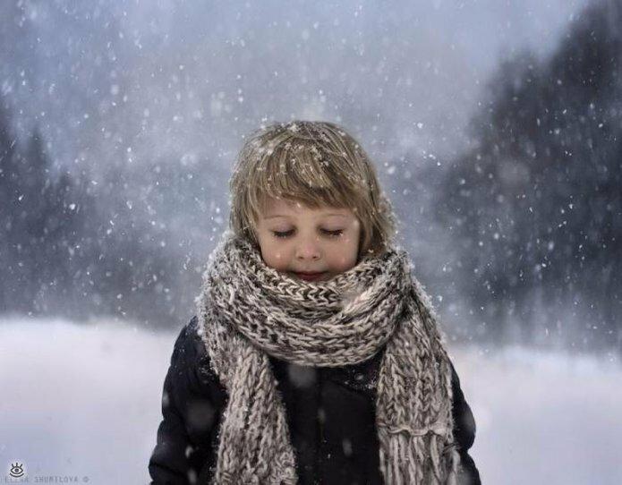 Детство в деревне зимой 6