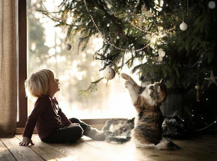 Детство в деревне зимой 7