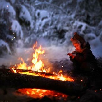 Фото приколы Детство в деревне зимой (11 фото)