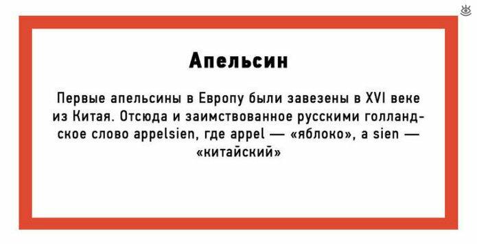 Нерусские слова, ставшие русскими 2