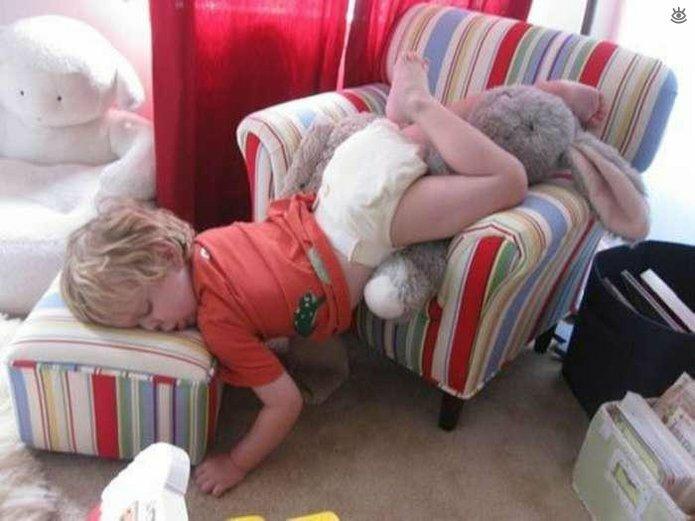 Дети, усунвшие неожиданно для себя 10