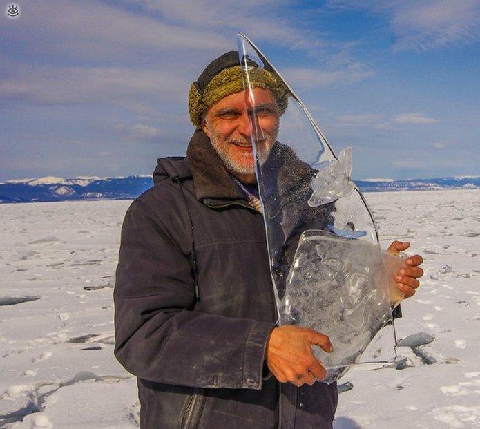 Озеро Байкал зимой 6