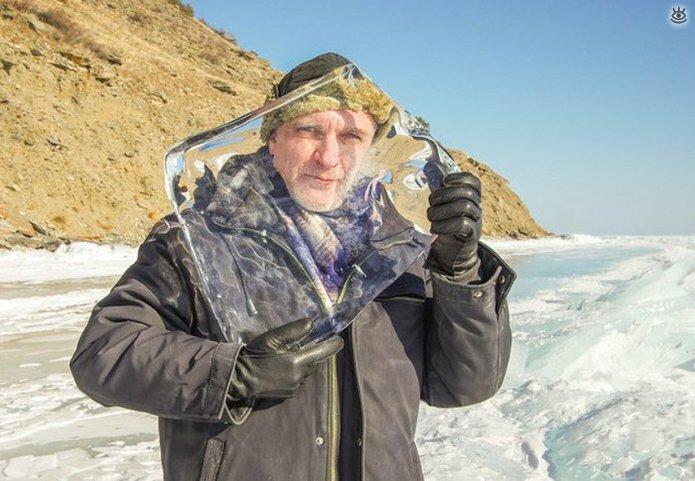 Озеро Байкал зимой 7