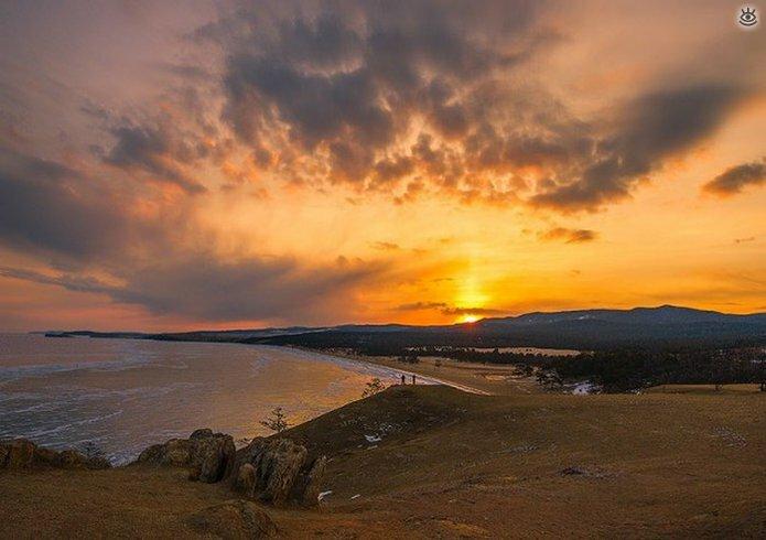 Озеро Байкал зимой 12
