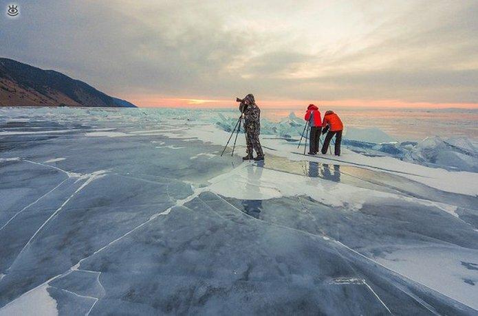 Озеро Байкал зимой 14