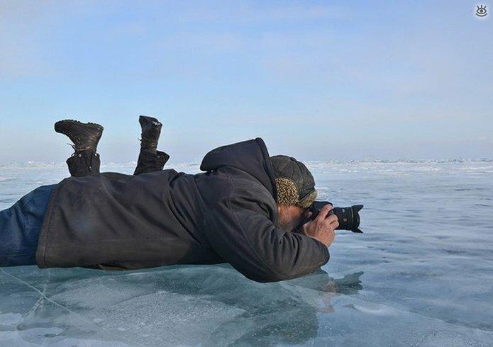 Озеро Байкал зимой 19