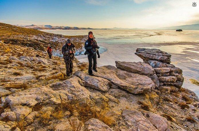Озеро Байкал зимой 26