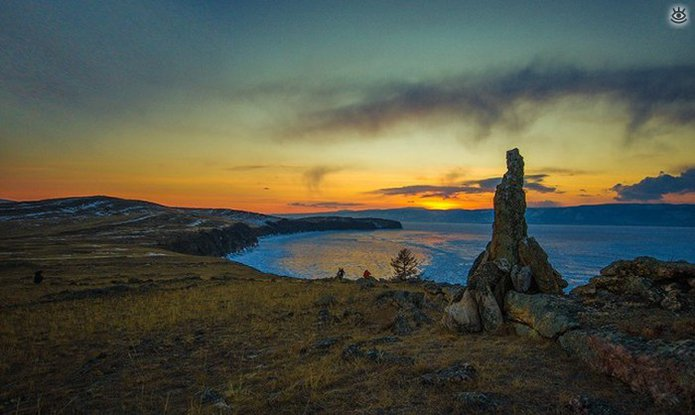 Озеро Байкал зимой 29