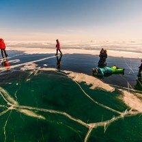Фото приколы Озеро Байкал зимой (35 фото)