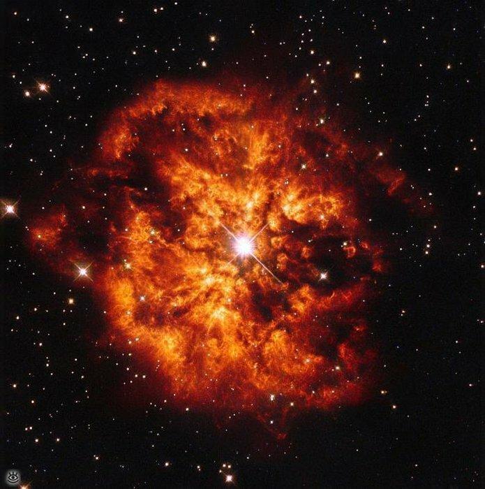 Впечатляющие космические фотографии 0