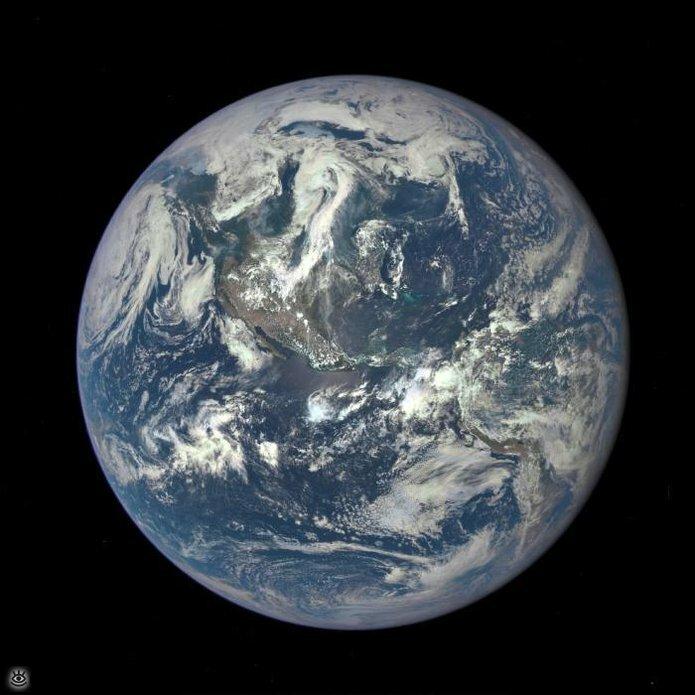 Впечатляющие космические фотографии 1