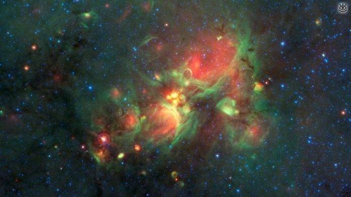 Впечатляющие космические фотографии 9