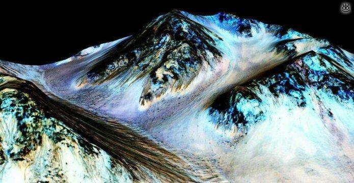 Впечатляющие космические фотографии 12