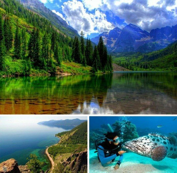 Красоты России для пешего туризма 0