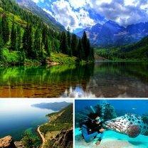 Красоты России для пешего туризма