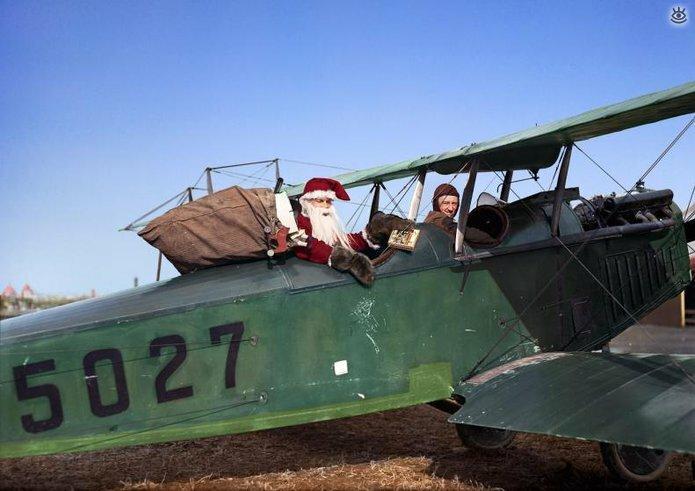 Винтажные фото с рождественским духом 2