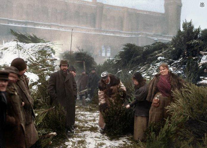Винтажные фото с рождественским духом 4