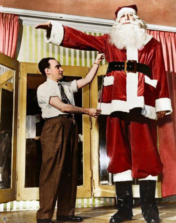 Винтажные фото с рождественским духом 9