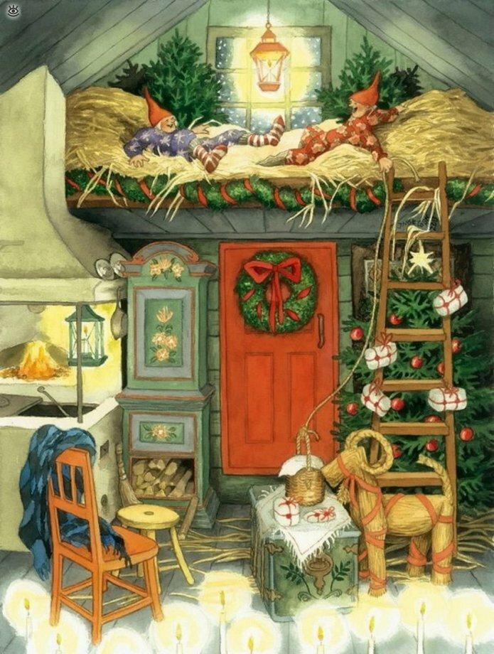 Как две бабуськи Рождество справляли 2