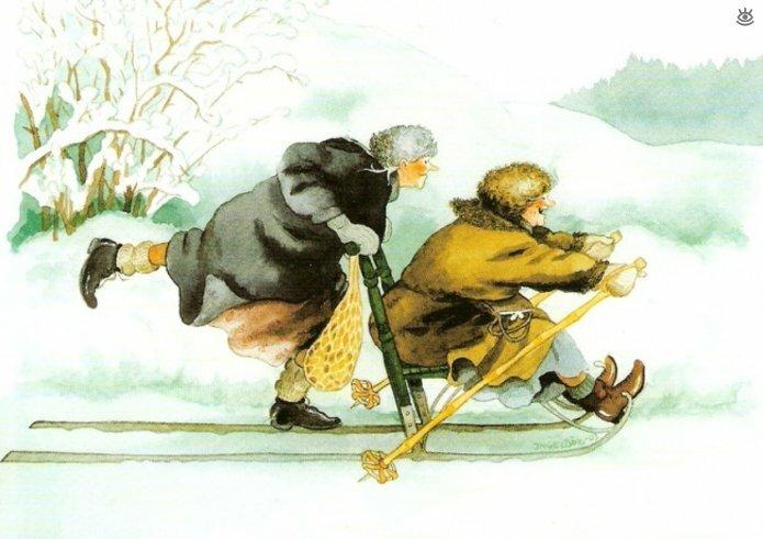 Как две бабуськи Рождество справляли 3