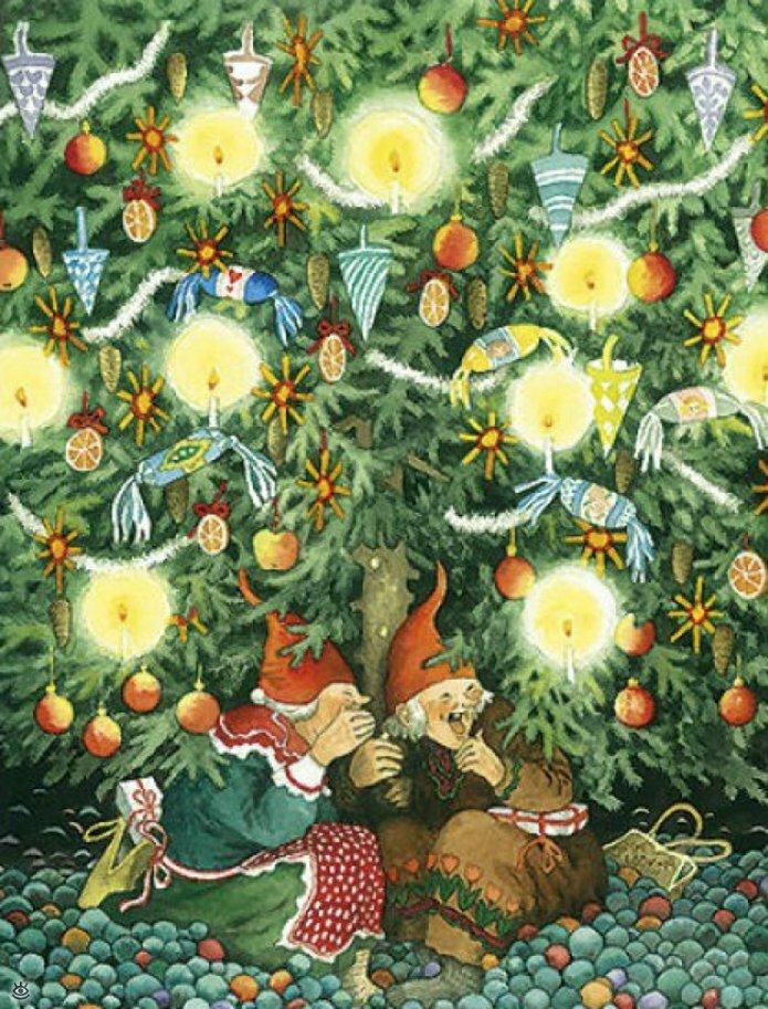 Как две бабуськи Рождество справляли 4