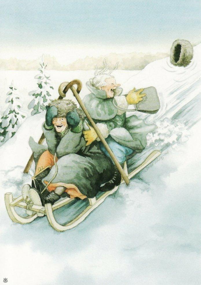 Как две бабуськи Рождество справляли 6