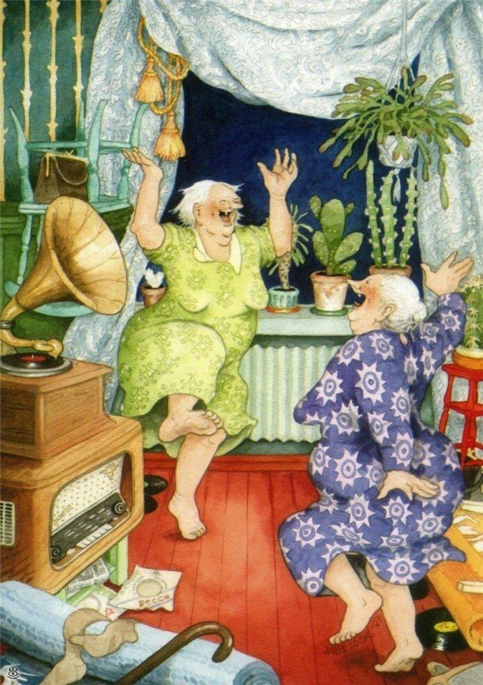 Как две бабуськи Рождество справляли 9