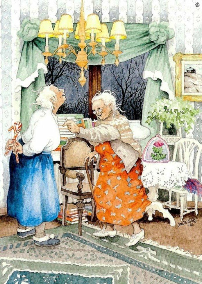 Как две бабуськи Рождество справляли 10
