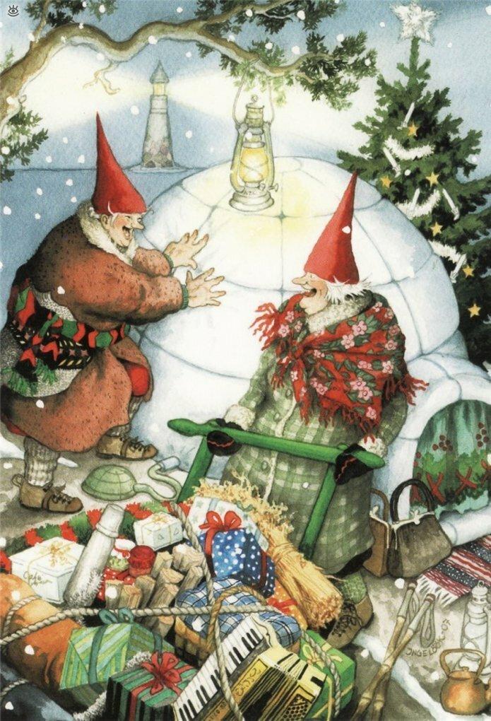 Как две бабуськи Рождество справляли 12