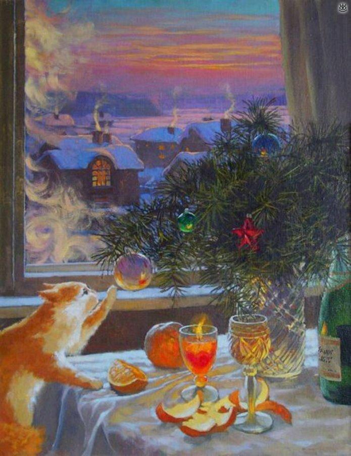 С новогодними праздниками! 16