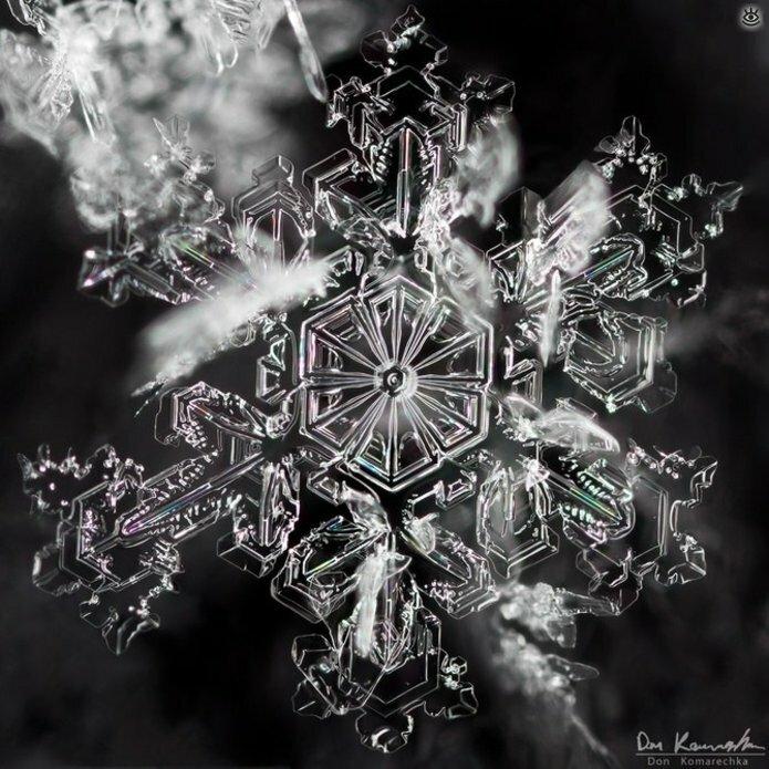 Волшебство снежинок 0