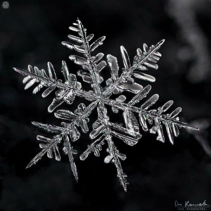 Волшебство снежинок 1