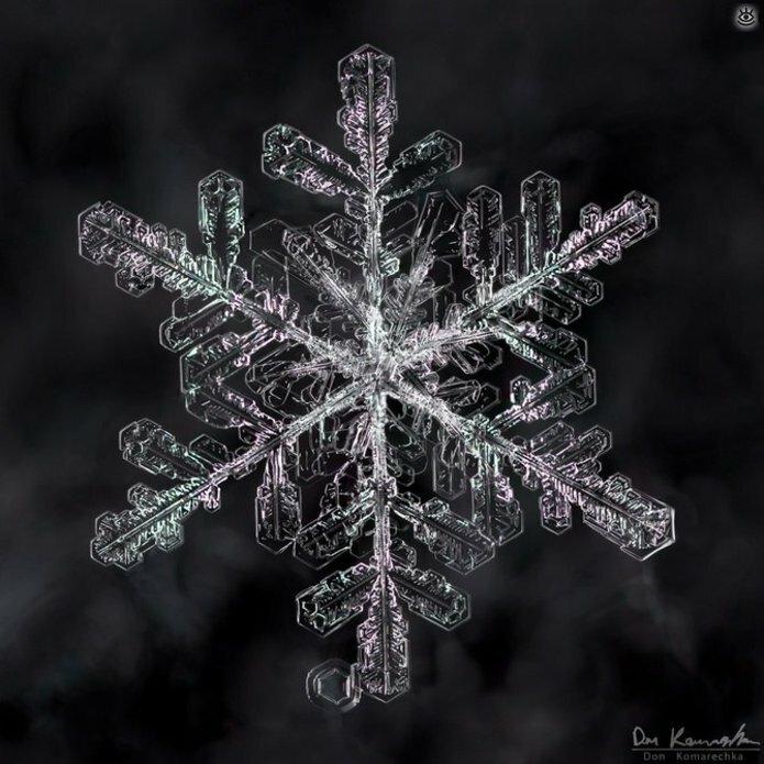 Волшебство снежинок 2