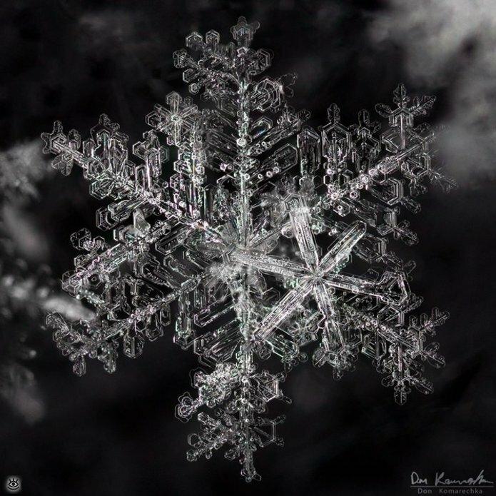 Волшебство снежинок 3