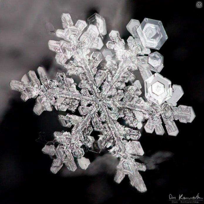 Волшебство снежинок 11