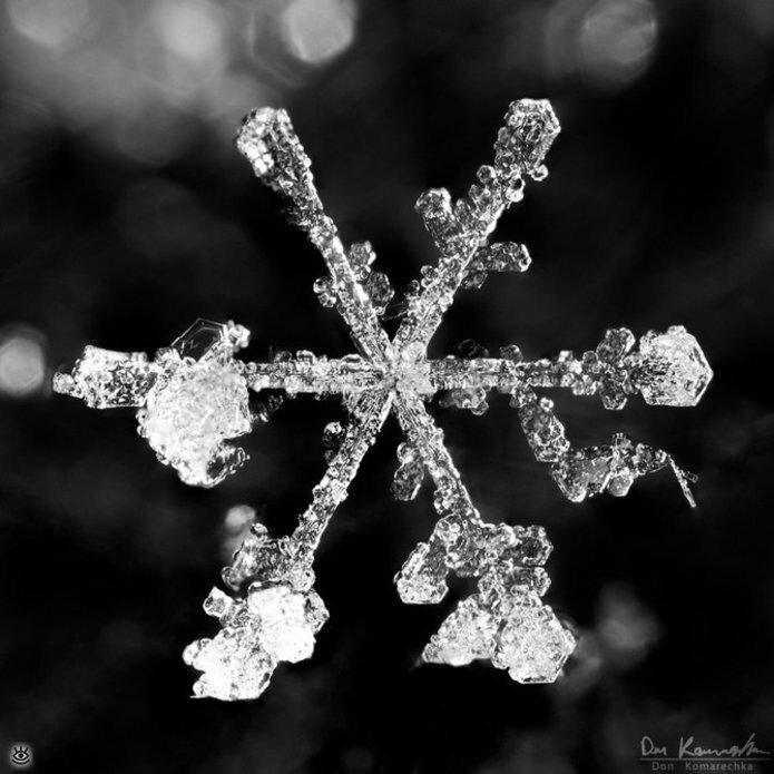 Волшебство снежинок 12