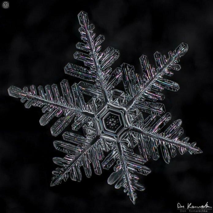 Волшебство снежинок 15