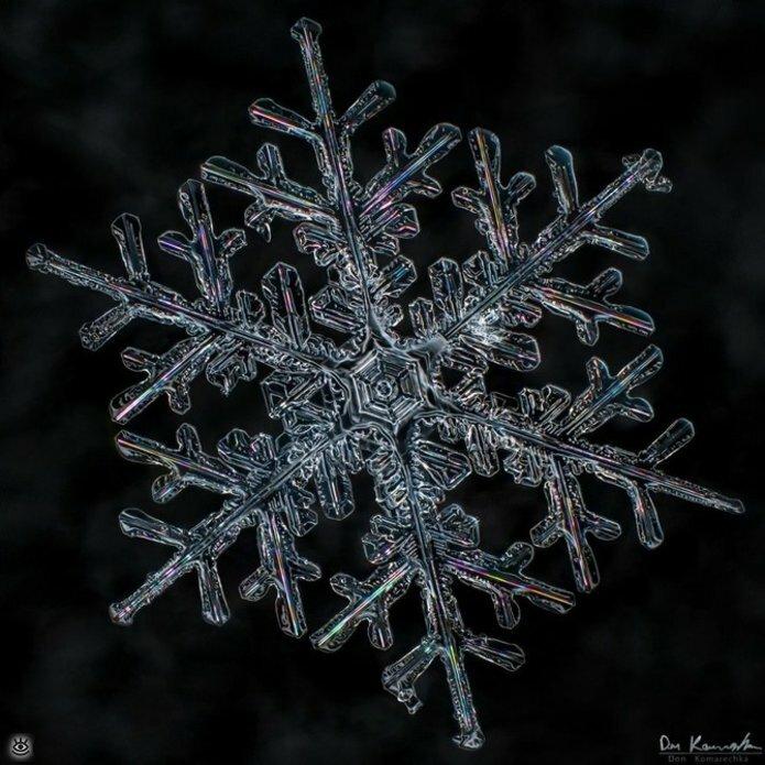 Волшебство снежинок 16
