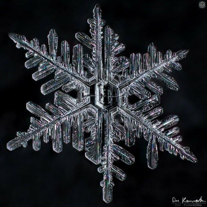 Волшебство снежинок 17