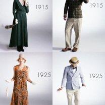 Мужская и женская мода за последний век фото приколы